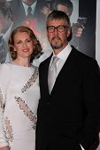 Mireille Enos, Alan Ruck at the