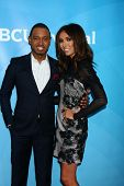 Terrence Jenkins, Giuliana Rancic at NBCUniversal's