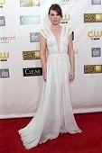 Clea DuVall at the 18th Annual Critics' Choice Movie Awards Arrivals, Barker Hangar, Santa Monica, C