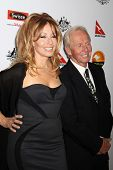 Paul Hogan and wife Linda Kozlowski at the 2013 G'Day USA Los Angeles Black Tie Gala, JW Marriot, Los Angeles, CA  01-12-13