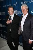 Mel Gibson, Richard Gere at the 2nd Annual Sean Penn & Friends