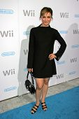 Samaire Armstrong at the party celebrating the launch of Nintendo's Game Console Wii. Boulevard 3, L