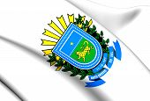 Mato Grosso Do Sul Coat Of Arms, Brazil.