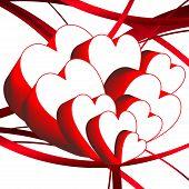 3D Hearts Club