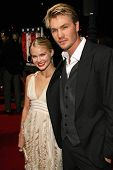 BEVERLY HILLS - DECEMBER 05: Kenzie Dalton and Chad Michael Murray at the World Premiere of