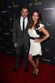 Hugh Sheridan and Natalie Imbruglia at the 2nd AACTA International Awards, Soho House, West Hollywood, CA 01-26-13