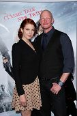 Derek Mears and guest at the
