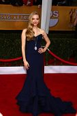 Amanda Seyfried at the 19th Annual Screen Actors Guild Awards Arrivals, Shrine Auditorium, Los Angeles, CA 01-27-13