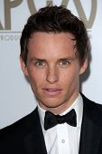 Eddie Redmayne arrives at the 24th Annual Producers Guild Awards held at The Beverly Hilton Hotel on January 26, 2013 in Beverly Hills, California
