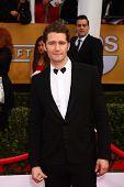 Matthew Morrison at the 19th Annual Screen Actors Guild Awards Arrivals, Shrine Auditorium, Los Ange