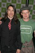 LOS ANGELES - NOVEMBER 08: Anthony Kiedis and Flea at the 16th Annual Environmental Media Association Awards at Wilshire Ebell Theatre November 08, 2006 in Los Angeles