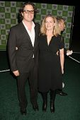 LOS ANGELES - NOVEMBER 08: Davis Guggenheim and Elisabeth Shue at the 16th Annual Environmental Medi