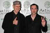 LOS ANGELES - NOVEMBER 12: James Cromwell and James Haven at the 2006 Artivists Awards at Egyptian Theatre November 12, 2006 in Hollywood, CA.