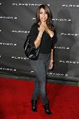 LOS ANGELES - OCTOBER 08: Vida Guerra at the Playstation 3 Launch Party October 08, 2006 in 9900 Wilshire Blvd, Beverly Hills, CA.