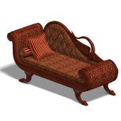 Very Comfortable Sofa From Biedermeier Time