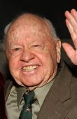 Mickey Rooney at the Billy Wilder Theater Opening Tribute. Hammer Museum, Westwood, California. Dece
