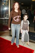 HOLLYWOOD - JULY 30: Amy Yasbeck and daughter Stella at the World Premiere of