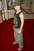 HOLLYWOOD - JULY 30: Tristan Lake Leabu at the World Premiere of