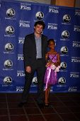 Benh Zeitlin, Quvenzhane Wallis at the Santa Barbara International Film Festivals 2013 Virtuosos Awa