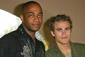 PASADENA - JULY 10: Rick Worthy and Paul Wesley at ABC's TCA Press Tour at The Ritz-Carlton on July