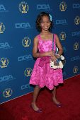 Quvenzhane Wallis at the 65th Annual Directors Guild Of America Awards Arrivals, Dolby Theater, Holl