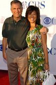PASADENA - JULY 15: Leslie Moonves and Julie Chen at CBS's TCA Press Tour at The Rose Bowl on July 1