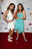 SANTA MONICA - JULY 23: Bridgetta Tomarchio and Alicia Arden at the Sexy Summer Soire Party hosted b