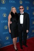 Margaret DeVogelaere, Peter Fonda at the 65th Annual Directors Guild Of America Awards Arrivals, Dolby Theater, Hollywood, CA 02-02-13