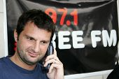 HOLLYWOOD - AUGUST 25: Dave Dameshek at the Adam Carolla and 97.1 KLSX Free FM Charity Car Wash to b
