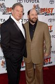 STUDIO CITY, CA - AUGUST 13: William Shatner and Jason Alexander at