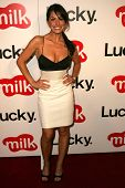 WEST HOLLYWOOD - AUGUST 10: Sarah Shahi at the Lucky Magazine LA Shopping Guide Party August 10, 200