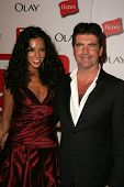 HOLLYWOOD - AUGUST 27: Terri Seymour and Simon Cowell at the TV Guide Emmy After Party August 27, 20