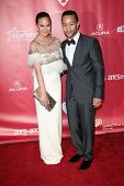 Christine Teigen, John Legend at MusiCares Person Of The Year Honoring Bruce Springsteen, Los Angeles Convention Center, Los Angeles, CA 02-08-13