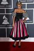 Lisa D'Amato at the 55th Annual GRAMMY Awards, Staples Center, Los Angeles, CA 02-10-13