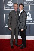 Neil Patrick Harris, David Burtka at the 55th Annual GRAMMY Awards, Staples Center, Los Angeles, CA