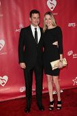 Jimmy Kimmel, Molly McNearney at MusiCares Person Of The Year Honoring Bruce Springsteen, Los Angele