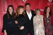 Bruce Springsteen and family at MusiCares Person Of The Year Honoring Bruce Springsteen, Los Angeles