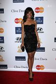 Shaun Robinson at the 2013 Clive Davis And Recording Academy Pre-Grammy Gala, Beverly Hilton Hotel,