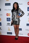 Brandy Norwood at the 2013 Clive Davis And Recording Academy Pre-Grammy Gala, Beverly Hilton Hotel,