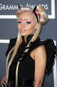 Kerli at the 55th Annual GRAMMY Awards, Staples Center, Los Angeles, CA 02-10-13