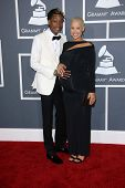 Wiz Khalifa, Amber Rose at the 55th Annual GRAMMY Awards, Staples Center, Los Angeles, CA 02-10-13
