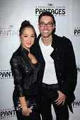 Diana DeGarmo, Ace Young at the