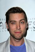Lance Bass at the