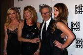 Jessica Capshaw, Kate Capshaw, Steven Spielberg, Sasha Spielberg at the ACE Eddie Awards 2013, Bever