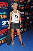 HOLLYWOOD - JULY 11: Oksana Baiul at ESPN The Magazine's