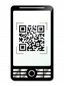 Phone With Qr Code