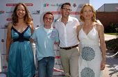 CULVER CITY - JULY 22: Michelle Crames, Frankie Muniz, Jeff Norton, Felicity Huffman at