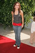 HOLLYWOOD - NOVEMBER 05: Mandy Musgrave at Bogart Backstage 2006 Children's Choice Awards at Palladi