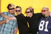 HOLLYWOOD - NOVEMBER 05: Bowling For Soup at Bogart Backstage 2006 Children's Choice Awards at Palla