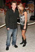 HOLLYWOOD - NOVEMBER 12: Bobby Edner and Ashley Edner at the world premiere of